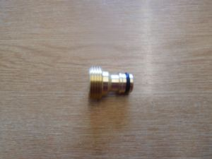 Brass 3/4 inch BSP Male to Hoselock